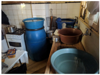 Water Storage in Maputo city