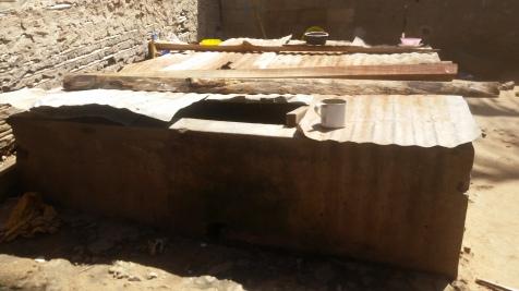 Water storage tank, Natite, Pemba.