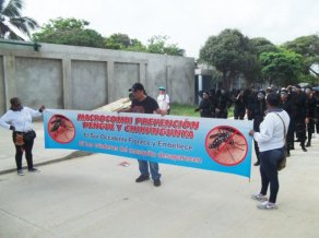 Prevention campaign against Dengue and Chikungunya. Southwest Barranquilla.