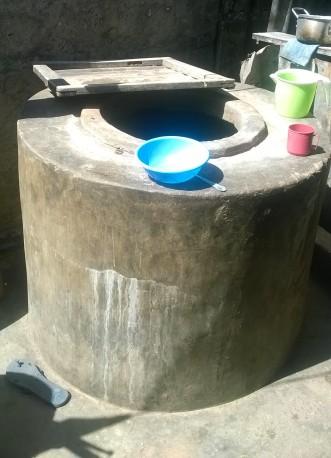 Water storage tank, Cariacó, Pemba.