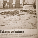 Arroyo (flash-flooding). Barranquilla. 1982, local press archives.
